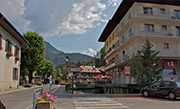 The Rhodos Hotel Morzine in the summer
