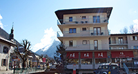 The Rhodos Hotel Morzine in the winter